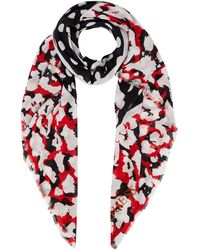 Guess - Polka Dot Not Coordinated Scarf - Lyst