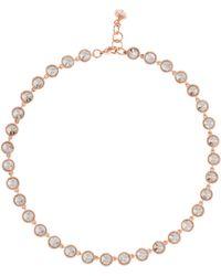 Ted Baker | T12912402 Rosele Rivoli Crystal Necklace | Lyst