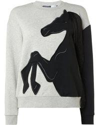 Sportmax Code - Geyser Horse Sweatshirt - Lyst