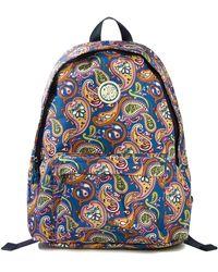 Pretty Green - Nylon Paisley Print Backpack - Lyst