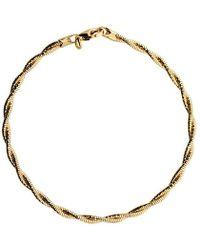 Azendi - Double Strand Vermeil Bracelet - Lyst