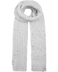 Dents - Marl Knitted Scarf - Lyst