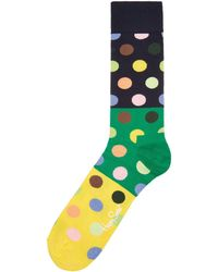 Happy Socks - Men's Sk Big Block Dot Sock - Lyst