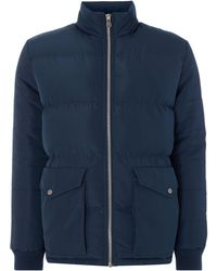 Criminal - Men's Walker Padded Funnel Coat - Lyst