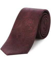 Kenneth Cole - Mcgrady Woven Floral Jacquard Tie - Lyst