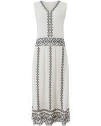 Label Lab - Greta Embroidered Dress - Lyst