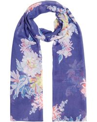 Joules - Wensley Long Scarf - Lyst