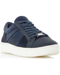 Dune - Egypt Lace Up Trainers - Lyst