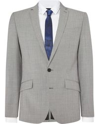 Kenneth Cole - Avery Dogtooth Suit Jacket - Lyst