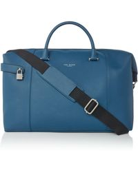 Ted Baker - Newmex Rubber Look Holdall - Lyst