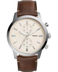 Fossil - Fs5350 Townsman Men's Watch - Lyst