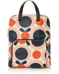 Orla Kiely - Scallop Flower Spot Backpack Tote - Lyst