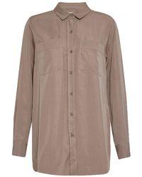 Great Plains - Tara Tencel Long Sleeve Shirt - Lyst