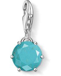 Thomas Sabo - Charm Club Turquoise Charm - Lyst