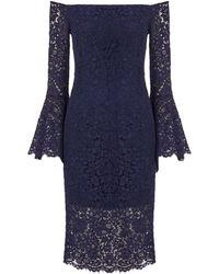 Bardot - Plunge Lace Dress - Lyst