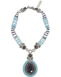 Weekend by Maxmara - Valico Statement Stone Necklace - Lyst