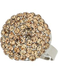 Mikey - Round Ring - Lyst