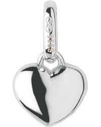 Links of London - Mini Slim Heart Charm - Lyst