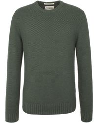 Racing Green - Report Textured Crew Neck Knit - Lyst