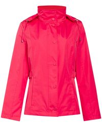 Cloud Nine - Short Jacket With Packaway Hood - Lyst