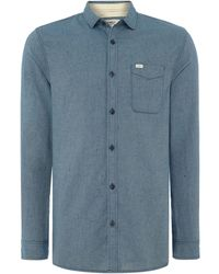 O'neill Sportswear Valencia Long Sleeve Shirt - Blue
