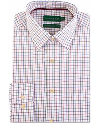 Double Two - Men's Multi Check 100 Brushed Cotton Shirt - Lyst