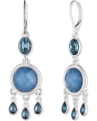 Nine West - Chandelier Earrings - Lyst