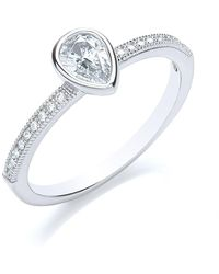Bouton - Stacker Ring Pear - Lyst