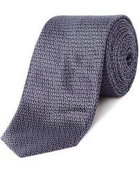 HUGO - Logo Tie - Lyst