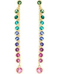 Swarovski - Attract Pierced Earrings - Lyst