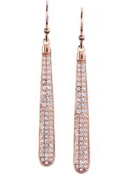 Kate Spade - Shine On Pave Linear Earrings - Lyst