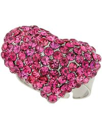 Mikey - M Heart Ring - Lyst