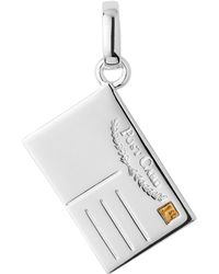Links of London - Sterling Silver Postcard Charm - Lyst