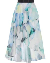 Coast | Mace Print Skirt | Lyst