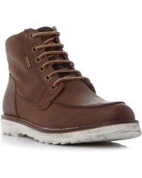 Geox - Shoovy Wp Lace Up Boots - Lyst