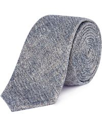 Kenneth Cole - Sheraton Textured Silk Tie - Lyst