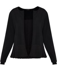 Ted Baker - Jacsum Pleated Back Cardigan - Lyst