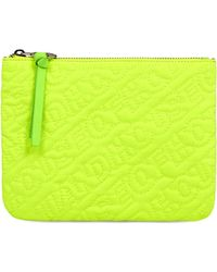 House of Holland - 'hoh' Neon Green Embroidered Pouch - Lyst