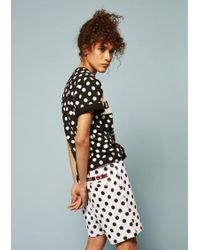 House of Holland - Umbro Polka Dot Flock Branding Shorts - Lyst