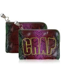 House of Holland - Crap Pouch Snake - Lyst