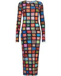 House of Holland - Crochet Maxi Dress - Lyst