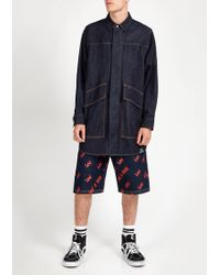 House of Holland - Lee Aop Release Shorts - Lyst