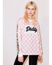 House of Holland | Pink Daddy Tee | Lyst
