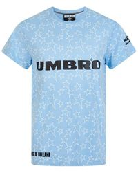 House of Holland - X Umbro Blue Star Tee - Lyst