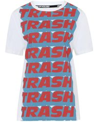 eb144cc3e House of Holland - X Andrew Brischler 'trash' Print T-shirt - Lyst
