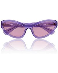 House of Holland - Lilac 'tell Ah' Sunglasses - Lyst