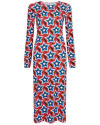 House of Holland - All Over Star Body Con Dress - Lyst