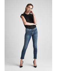 Hudson Jeans - Tally Midrise Skinny Crop Jean - Lyst