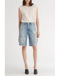 Hudson Jeans - Jane Cargo Short - Lyst