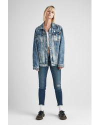 Hudson Jeans - Oversized Trucker Jacket - Lyst